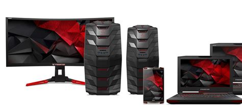 acer pounces on vr gaming with new predator desktop and laptop pcs acer expands its predator gaming line with vr ready