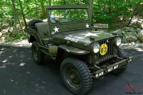 1952 Jeep Willys 1952 Willys Jeep M38 Jeep Restored Classic