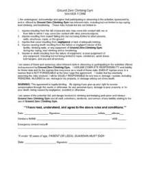fitness waiver form template waiver form fill printable fillable blank