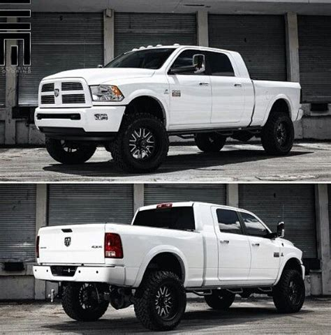 cummins truck white i so want this in black it d be perfect for hauling it