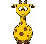 Cartoon Giraffe Clip Art At Clkercom  Vector Online