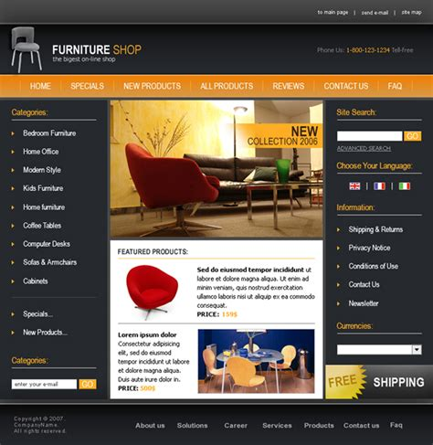 Oscommerce Templates Skynet Technologies Oscommerce Templates Free
