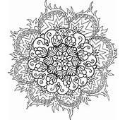 Top Mandalas Gratuits  Mandala Symbole Flammes &224 Imprimer