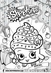 Shopkins coloring pages only coloring pages