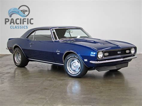 1968 blue camaro 1968 chevrolet camaro blue