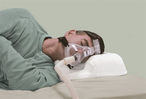 cpap bed pillow cpap user sleep apnea bed pillow