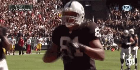 oakland raiders gif  nfl find share  giphy