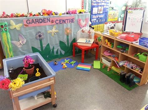 garden centre role play centre de jardinage activites