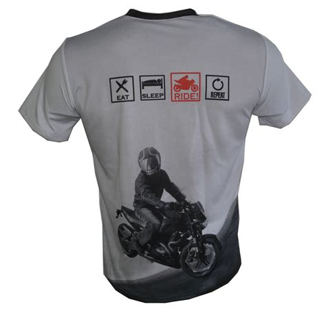 T Shirt Repeat eat sleep ride repeat t shirt with logo and all