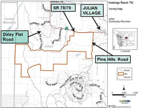 subdivision map act california julian residents object to linden blue s backcountry