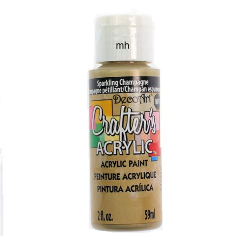 acrylic paint or paint decoart crafters acrylic paint 59ml deco acrylic