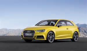 audi s3 gets power boost new styling and new tech evo