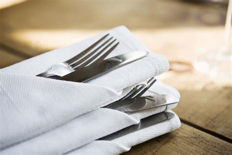How To Fold A Paper Napkin With Silverware - how to fold napkins american profile