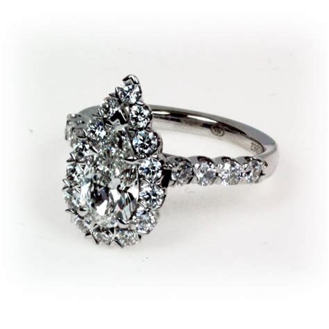 vintage pear shaped engagement rings wedding and bridal