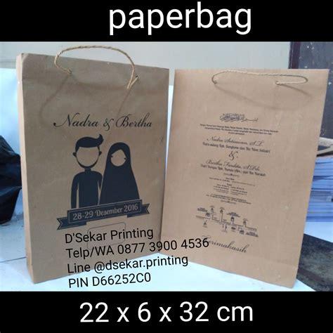 Paperbag Besar Shopping Bag Sablon cetak paperbag pusat cetak sablon merchandise
