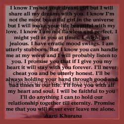 My dream girl quotes i will share all my dreams