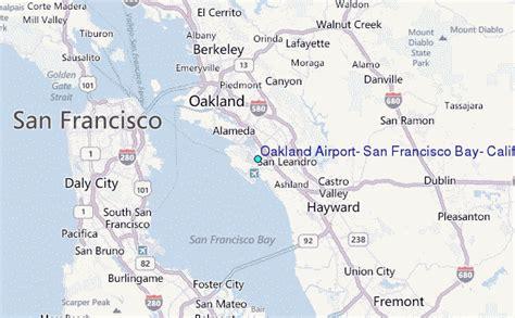 san jose to oakland map oakland airport san francisco bay california tide
