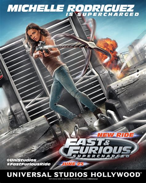 fast and furious 8 supercharged michelle rodriguez poster for fast furious supercharged