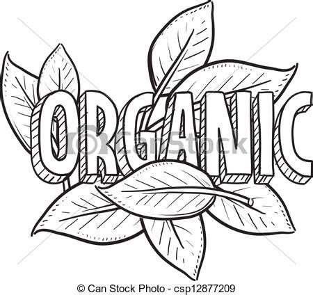 Organic Sketchy Lines by Organic Food Sketch Doodle Style Organic Food