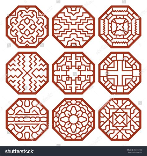 kpop pattern password korean traditional vector patterns ornaments and symbols