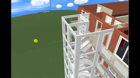 plan3d plan3d eight story apartment complex in lifelike 3d