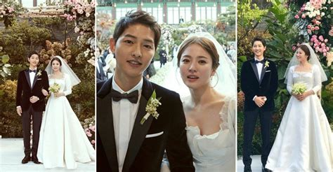 yoo ah in song song wedding descendants of the sun stars song joong ki and song hye