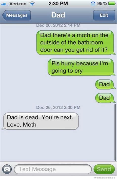 Funny Dad Meme - dad is dead love moth funny meme funny memes