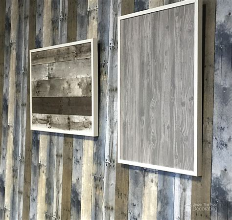 framing photos without glass get the look of reclaimed wood utr d 233 co blog