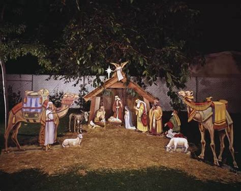 deck the holiday s how nativity displays began