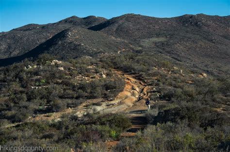friendly hikes san diego mcginty mountain hiking san diego county