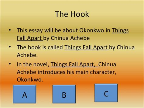 Chinua Achebe Essays by Change In Things Fall Apart Essay