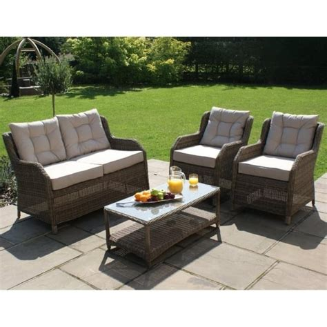 high back sofa sets maze rattan winchester square high back sofa set