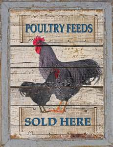 Rustic farmhouse french country kitchen home decor rooster sign ebay