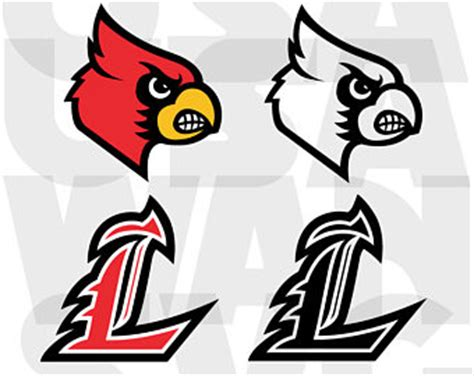 louisville basketball coloring pages wings monogram frame design cutting template svg eps