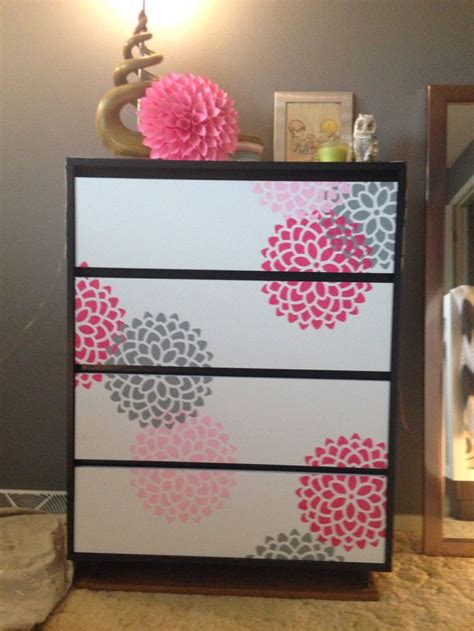 diy drawer organizer nursery emma s dresser i painted the drawer fronts white and