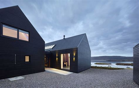 two barns house island house inspired by scottish farm barns