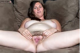 Chubby Mature Hairy Pussy Spread