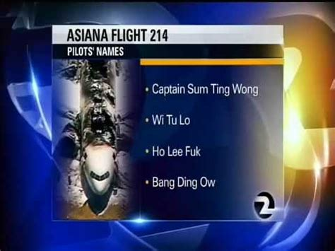 funny fake names asiana plane crash funny fake pilots names released youtube