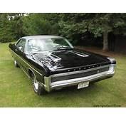 1970 Plymouth Sport Fury GT Black Velvet  Cars Pinterest