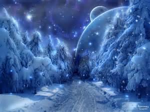 Winter snow wallpaper 1600x1200 winter snow fantasy art alien