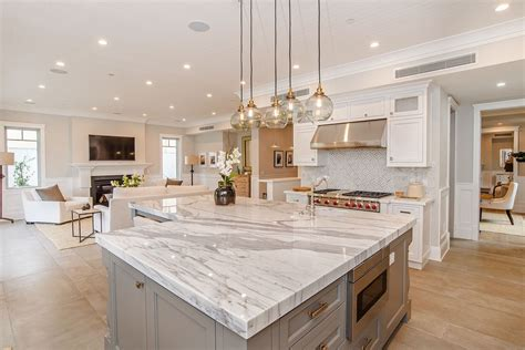 how high is a kitchen island traditional kitchen with complex marble counters