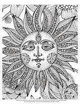 Printable Psychedelic Coloring Pages