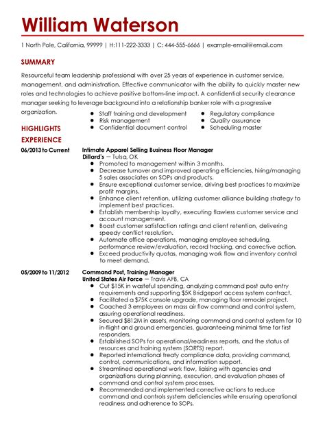 resume example for job free resume templates