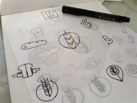 logo development sketches sketching an important aspect of logo designing spellbrand 174