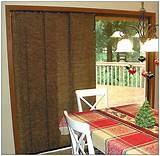 Window Treatment For Sliding Glass Door