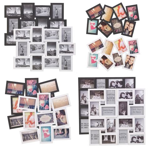 small collage picture frames 8 12 16 photos large multi picture photo frame collage