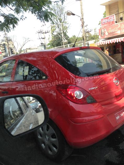 opel india what is current generation opel corsa doing in bengaluru