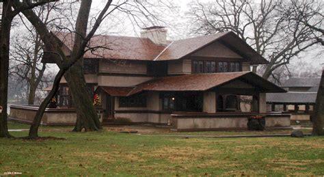 prairie houses frank lloyd wright hickox house kankakee illinois 1900 prairie style