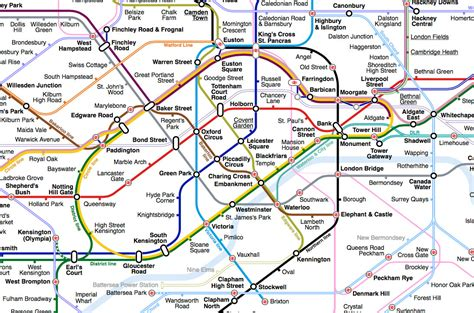 london tube map a new take for the 21st century