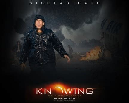 film nicolas cage italiano segnali dal futuro il trailer italiano del film knowing